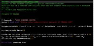 VMware Find Duplicate IP